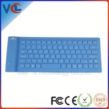 bluetooth silicone mini modern products 82keys keyboard