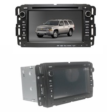 car dvd touch screen gps for gmc sierra radio system with tv bluetooth ipod