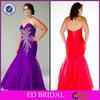 EDE065 Enchanting Mermaid Floor Vintage Sequin Big Size Women Dress Evening Dress