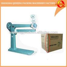corrugated carton box stapling staplers machine