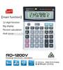 heavy duty printing calculator 12 digits calculator 1200V solar calulator office calculator