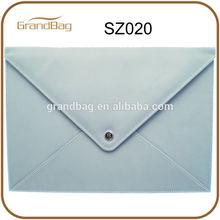 2014 new leather envelope portfolio / clutch bags