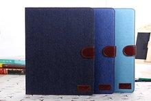 FL365 retro jean leather case for ipad 4