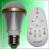 2014 Hot Sale CE Rohs Dual Color LED Bulb Remote Control