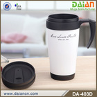 Hot sale double wall thermo tea PP tumbler with handle