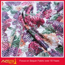 Sequin fabric195# Sequin Pure Silk brocade fabric, decorative fashion embroidery fabric 2012