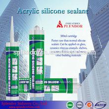 acetic cure silicone sealant/ silicone sealant low price/ concrete silicone sealant