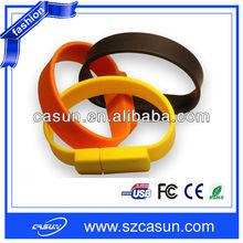 2015 New! Silicon Bracelet USB,Wristband USB Drive,USB Memory Stick