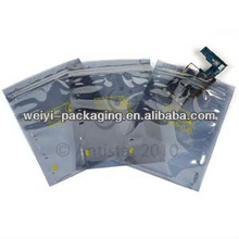 Antistatic Shield Bag For Electronic Coomponents Packing