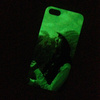 Glow in Dark Protector Case for iPhone 5S TPU Cell Phone Case Cover for iPhone 4S Waterproof Soft Mobile Phone Back Cover