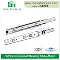 De alta qualidade bonita ball bearing gaveta slides amortecedor