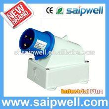 2014 Brand New Saip 3p+n+e industrial plug 3P SP332