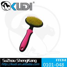 Elestic convenient pet slicker brush for dog New style Nylon Bristle brush for dogs