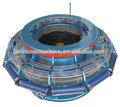 la manguera de fuego tela que hace la máquina telar circular de tejido de la máquina