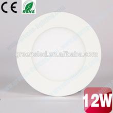 85V-265V 12W Led Panel Lights Ceiling Down Light Warm/Cold/Nature White