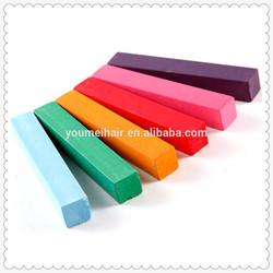 good quality 6 color hair chalk high quality chalk in hair dye