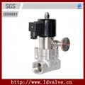 """1/2"""" wcb hilo de control manual de la válvula solenoide para"""