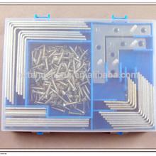 wall mounted angle iron bracket 180pc hardware assorted kit hardware wall mounted angle iron bracket