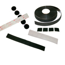 Removable hanging strip velcro tape adhesive back hook and loop coins tape 3m adhesive hook and loop dots