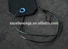 Hot sell hang tag plastic cord 2014