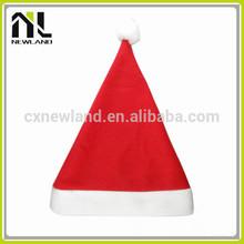 100% Polyester Felt Hot selling decoration Santa Caps dancing christmas hats