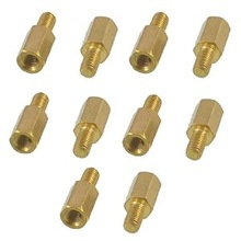 Brass Screw Thread PCB Stand-off Spacer 3mm Male x 2.3mm Female
