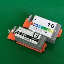 Compatible Ink Cartridge BCI-15BK BCI-15C/BCI-16C Compatible Canon Ink Cartridges For Canon BCJ7000