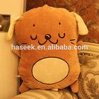 lifelike plush dog pillow,cute stuffed dog shaped cushion ,plush dog