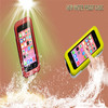 high qulity TPU silicone waterproof mobile phone diving phone bag for iphone