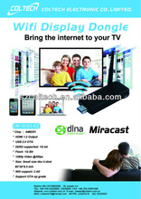 Ezcast Miracast Dongle Wifi Streaming Multimedia to TV Wireless Sharing Display