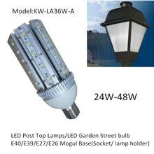 LED Garden Street Lighting Solutions 24W 30W 36W 42W 48W