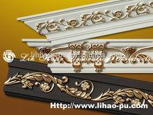 Polyurethane (PU) decorative building materials pu cornice for roof