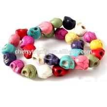 Color skull elastic Bracelet Wristband Skull Stretch Bracelet Wholesale