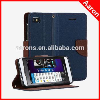 Cross Pattern Leather case for BlackBerry Z10