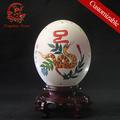 decorativa caving artesanais ovos de avestruz