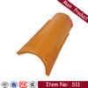 S11 310x145mm easy install green spanish building material roof tile