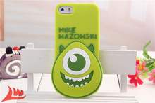 For iphone 4 4s case cartoon 3d mickey minnie mouse squirrel sulley mike stitch Big head rubber soft silicone cell phone covers