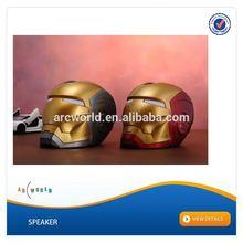 AWS912:Iron Man Active Speaker, usb speaker jack