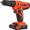 Double Speed 14.4V Li-ion Cordless Drill with Rechargeable Batteries (8614)