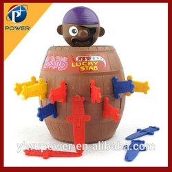 The pirates barrels joke toys