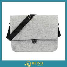 hand made felt wool bag