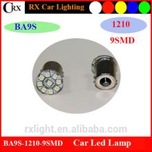Less than 1% defective rate 3528 9SMD car dome led reading light ba9s led light
