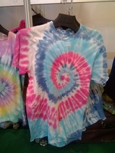 2014 New Woman T-shirt O-neck shirt OEM Factory Manufacture Clothing Tie Dyed 100% Cotton Printing Tshirt