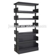 Library Cabinet Book Shelf /Metal Display Book Rack Bookshelf/Bookcase