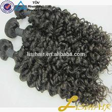 Hair Factory In Stock Unprocessed Virgiin 100% Human Hair Silky Yaki Perm Weave