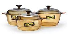 Customized borosilicate glass candy jar wooden lid
