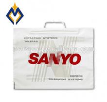 high desity HDPE plastic frosty rigid snap lock plastic poly bag
