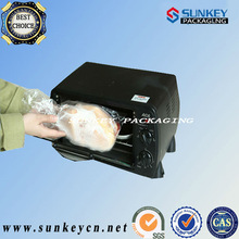 folded plastic PET oven bags for turkey