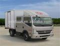 Caliente la venta de dongfeng 4*2 lhd camiones ligeros, camión de carga pequeña