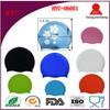 printing pattern silicone swim cap
